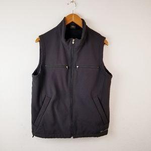 Ariat Black Softshell Fleece Lined Vest Sz M